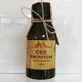Сок чистотела (ферментированный), 100 мл