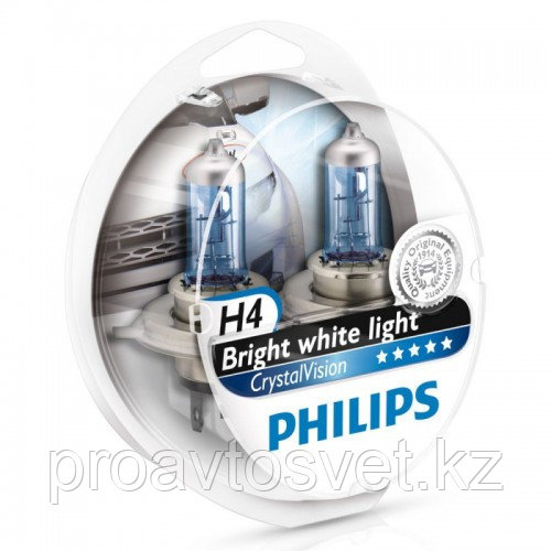 PHILIPS H4 Cristal Vision W5W 12342S2