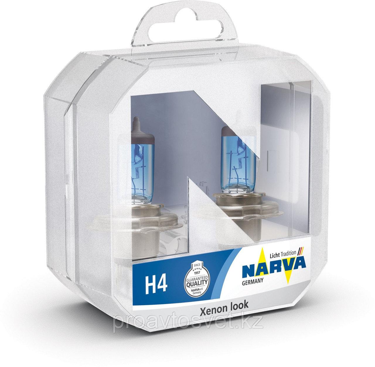 Narva H4 Range Power White 48680