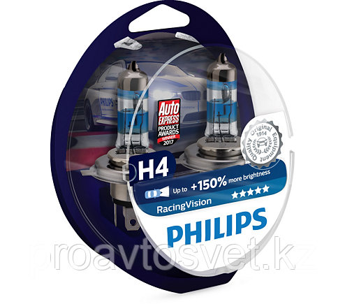 PHILIPS H4 Racing Vision 12342 RV 12 60/55W