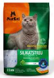 Murkel яблоко 4л (1.8кг) Крупная фракция Силикагелевый наполнитель для туалета кошек, фото 1