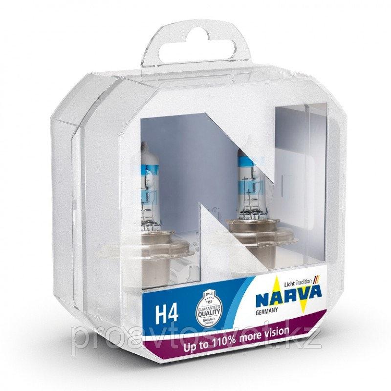 Галогенные лампы Narva H4 Range Power +110 S2