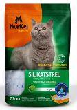 Murkel Мелкая фракция с ароматом Яблока 2,2л (1кг) Силикагелевый наполнитель для кошачьего туалета, фото 1