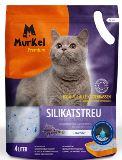 Murkel Мелкая фракция с ароматом Лаванды 2,2л (1кг) Силикагелевый наполнитель для кошачьего туалета, фото 1