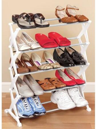 Складная полка для обуви из 5 уровней 27040