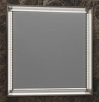 Зеркало OPADIRIS Капри 80 белый/ Орех антикварный (нагал Р46) (Z0000003919)