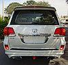 Обвес Sport paket на Toyota Land Cruiser 200