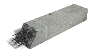 Армированная перемычка полистиролбетон, 400*300 мм, D600