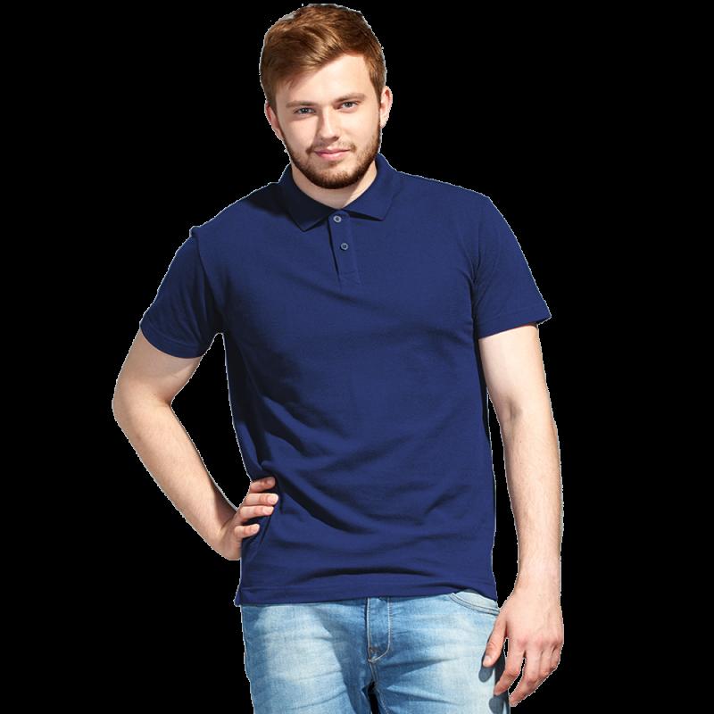 Рубашка поло унисекс, StanUniform, 04U, Тёмно-синий (46), XXL/54