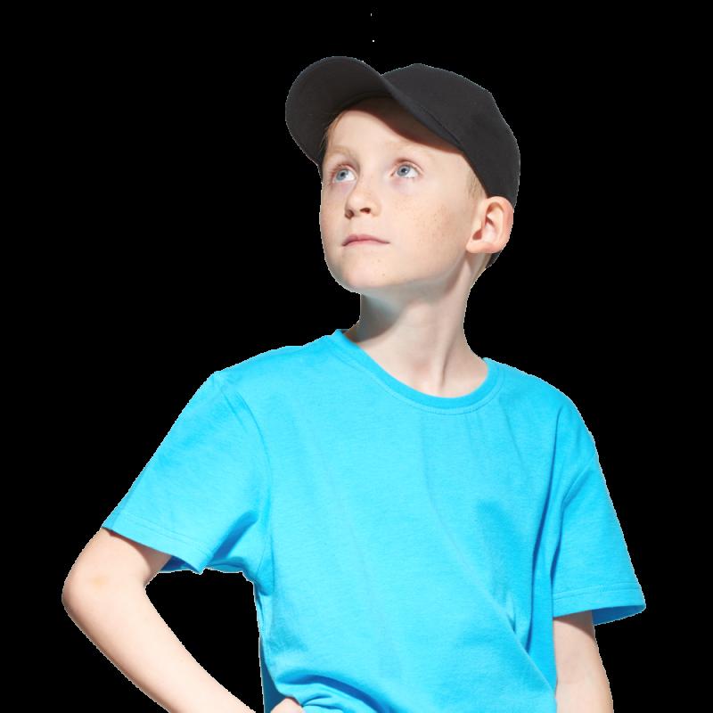 Детская промо бейсболка, StanClassicTeens, 10JU, Чёрный (20), 52-54