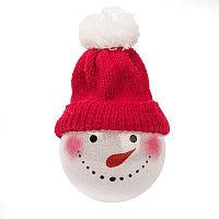 Шар новогодний SNOWMAN, красный, , 27000