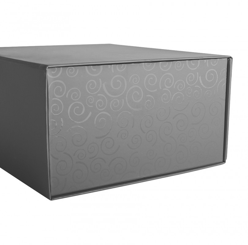 Упаковка подарочная, коробка складная, Серебро, -, 20401 93 - фото 3