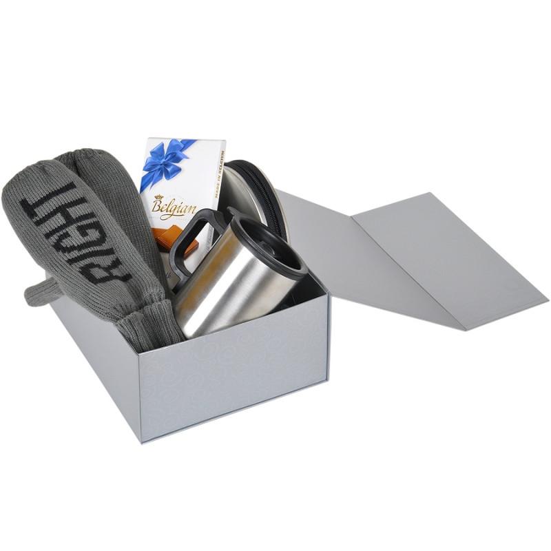 Упаковка подарочная, коробка складная, Серебро, -, 20401 93 - фото 5