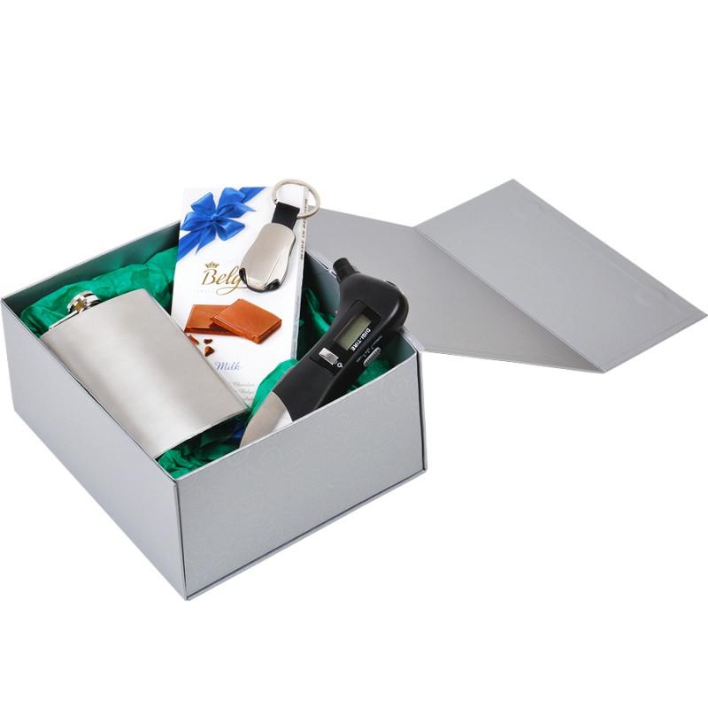 Упаковка подарочная, коробка складная, Серебро, -, 20401 93 - фото 6