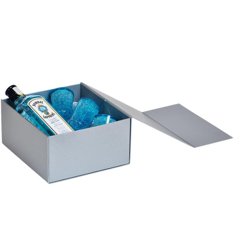 Упаковка подарочная, коробка складная, Серебро, -, 20401 93 - фото 7