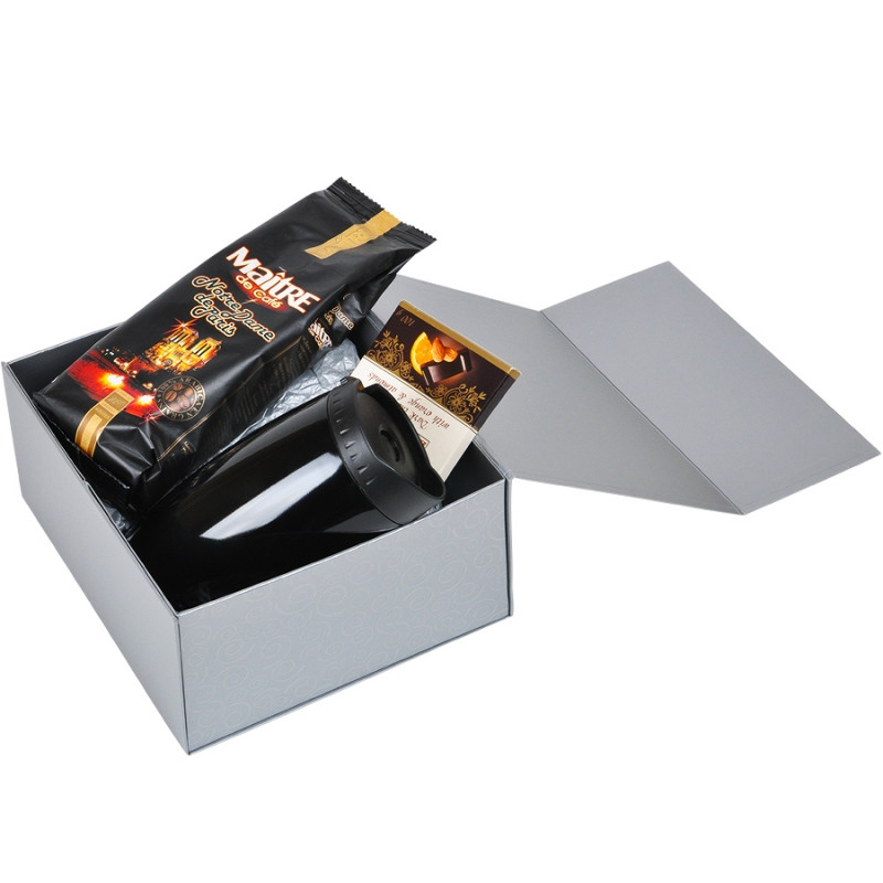 Упаковка подарочная, коробка складная, Серебро, -, 20401 93 - фото 8