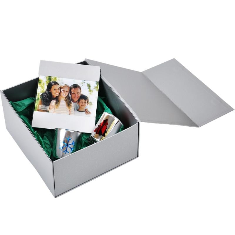 Упаковка подарочная, коробка складная, Серебро, -, 20401 93 - фото 10