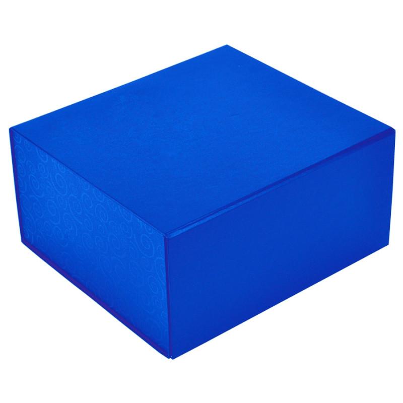 Упаковка подарочная, коробка складная , Синий, -, 20401 24 - фото 1