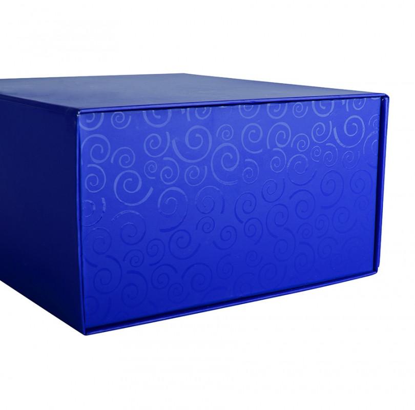 Упаковка подарочная, коробка складная , Синий, -, 20401 24 - фото 2