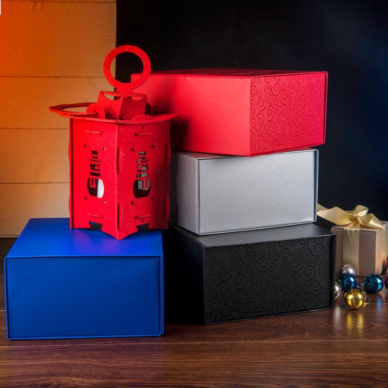 Упаковка подарочная, коробка складная , Синий, -, 20401 24 - фото 4