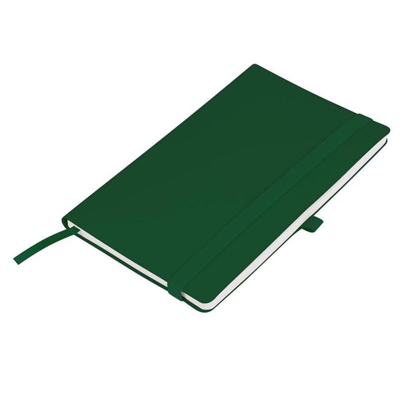 Бизнес-блокнот GRACY на резинке, формат А5, в линейку, Зеленый, -, 21223 15