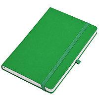 """Бизнес-блокнот  """"Silky"""", формат А5,  обложка твердая,  блок в клетку, Зеленый, -, 21215 15, фото 1"""
