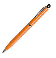 Ручка шариковая со стилусом CLICKER TOUCH, Оранжевый, -, 36001 05