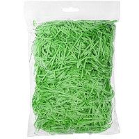 Стружка бумажная декоративная, 2 мм, 56 гр, Зеленый, -, 20412 15