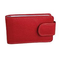 """Футляр для  кредитных карт  """"Верона"""" в подарочной упаковке, Красный, -, 19705 08"""