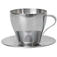 """Чайная пара """"Teatime"""", серебристый, , 5807"""