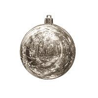 Шар новогодний GLOSS, Серебро, -, 61000 47