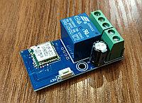 Реле вкл/выкл (програмируемое) 12V/10A (Wi-Fi, работа по расписанию, по циклу, ручное управление) без корпуса