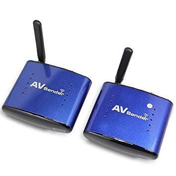 Видеосендер PAT-630 5.8 ГГц Беспроводной AV-передатчик и приемник 200 м