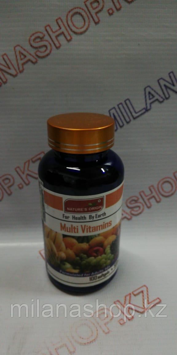 Капсулы Мультивитамин - Multi Vitamins