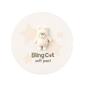 Мягкая компактная пудра для жирной кожи TONYMOLY Bling Cat Soft Pact