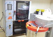 Предварительное тестирование конвекционной печи и тестомесильной машины перед сдачей заказчику