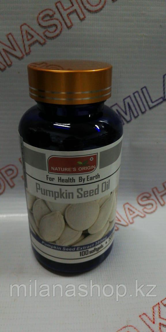 Капсулы Тыквенное масло - Pumpkin Seed Oil
