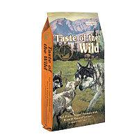 Сухой корм для щенков с Запеченным мясом бизона и оленины Taste of the Wild 12.7 кг арт.TOW09
