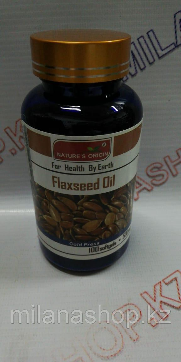 Капсулы Льняное масло - Flaxseed Oil