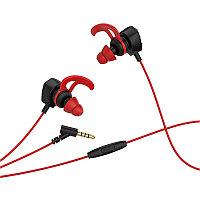 Проводные игровые наушники Hoco M45 с микрофоном, Black-Red, фото 1