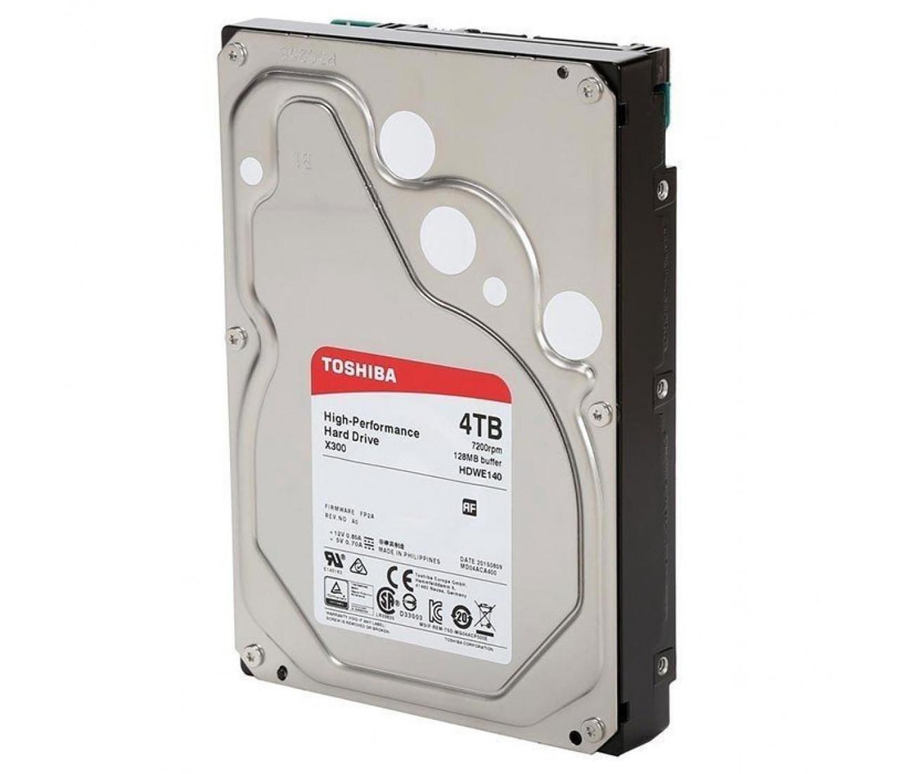 Внутренний жесткий диск HDD 4000Gb HDWD240UZSVA Toshiba