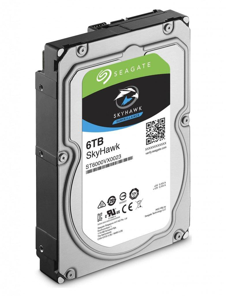 Внутренний  жесткий диск HDD 6000Gb SkyHawk Seagate