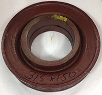 Блок   КС-4572  (315/150)  чугун, полиспаст автокрана     , фото 1