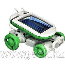 Робот трансформер 6в1 на солнечных батарейках