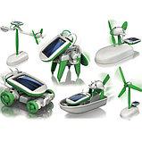 Робот трансформер 6в1 на солнечных батарейках, фото 2