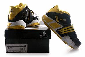 Баскетбольные кроссовки Adidas T-Mac 3 (Tracy McGrady) черно-желтые, фото 2