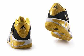 Баскетбольные кроссовки Adidas T-Mac 3 (Tracy McGrady) черно-желтые, фото 3