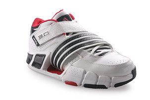 Баскетбольные кроссовки Adidas T-Mac 3 (Tracy McGrady) бело-красные, фото 2