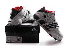 Баскетбольные кроссовки Adidas T-Mac 3 (Tracy McGrady) бело-красные, фото 3