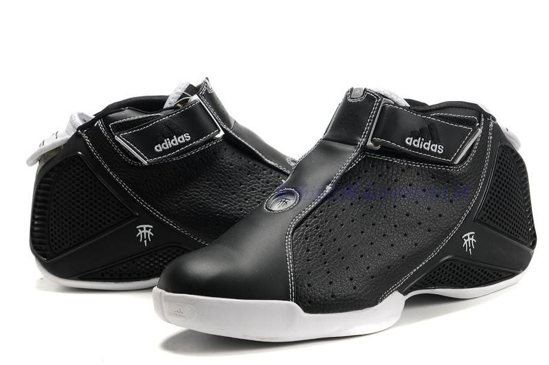 Баскетбольные кроссовки Adidas T-Mac 4 (Tracy McGrady) черные